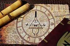 Magic Bill Cipher Summoning Scroll - An Antique Bill Cypher Print Gravity Falls