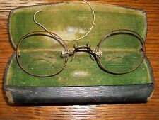 Antique Tortiouse/gold Eye Glasses with case