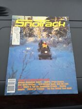 Nov 1978 SNOTrack snowmobile magazine  Kawasaki Invader COVER Polaris Ski Doo