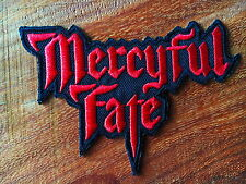 Mercyful Fate Sew Iron On Patch Embroidered Rock Band Heavy Metal Music