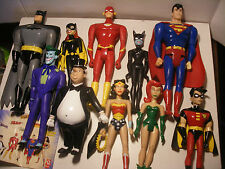 MARVEL DC comics super heroes figurines QUICK Lot Serie Complete Justice League