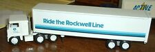 Rockwell '83 Ride the Rockwell Line Winross Truck