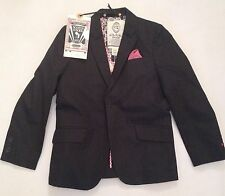SCOTCH AND SODA PINSTRIPE BLAZER NAVY 8 YEARS RRP £90  NOW £35.50