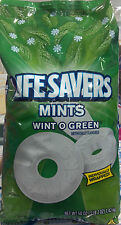 Lifesavers Mints - Wint O Green - Over 360 Count Bag - Individually Wrapped