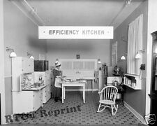 Photograph Vintage Efficiency Home Kitchen Woodward Lothrop Store 1930c  8x10
