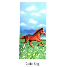 20 pc Horse Cello Bag Western