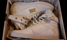 Firetrap Ladies Bliss Lace Up Velcro/ Hi Tops White Gold RRP£100!/LAST PAIR!BNIB