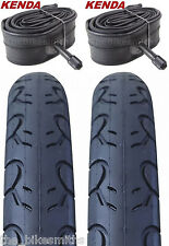 "2PAK KENDA KWEST 26x1.5"" Bike Tires & Tubes  Bicycle 26"" Road kit 65psi City MTB"