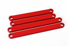 Red Aluminum Camber Arms Traxxas Rustler Traxxas Stampede 3641 1:10