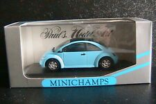 VW VOLKSWAGEN NEW BEETLE CONCEPT CAR CONVERTIBLE 1994 BLUE MINICHAMPS 430054000
