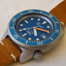 Orologio Squale Professional OCEAN 500mt -cassa acciaio sabbiato,cinturino pelle