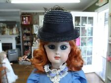 CL 24  RESIN DOLL RIDING HAT FORM MOLD  6 in - 7in head  BLEUETTE FRENCH FASHION