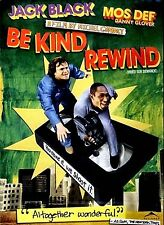 NEW DVD // BE KIND REWIND / JACK BLACK, DANNY GLOVER , MIA FARROW, MOS DEF