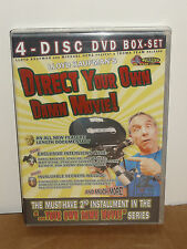 Direct Your Own Damn Movie! (DVD) 4-Disc Set! Penelope Spheeris, TROMA DVD! NEW!