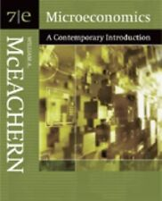 Microeconomics A Contemporary Introduction by William A McEachern