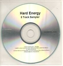 (AI372) Hard Energy, 5 track sampler - DJ CD