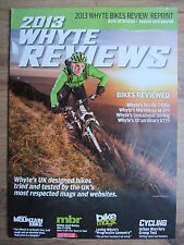 2013 WHYTE MOUNTAIN & URBAN BIKES REVIEWS MAGAZINE ~ NEW