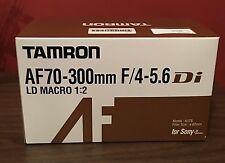 AF 70-300mm F/4-5.6 Di LD MACRO 1:2 lens for Sony/Minolta **BRAND NEW IN SEALED*