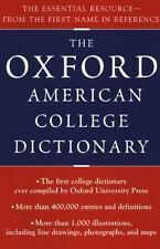 Oxford American College Dictionary-ExLibrary