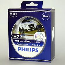 H7 Philips RacingVision +150% 12972RVS2 Racing Vision X-Treme