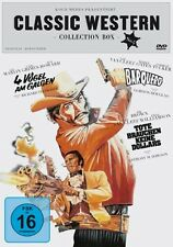 CLASSIC WESTERN BOX LEE Marvin VAN CLEEF Forrest Tucker 3 DVD Collection Neuf