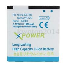 3.7V 1900mAh Backup Battery Replacement For SONY Xperia S LT26i Xperia V LT25i