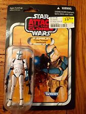 Star Wars Vintage Collection CLONE TROOPER LIEUTENANT Attack Clones AOTC VC109