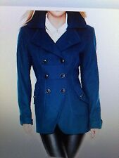 Guess Double Breasted Wool Coat Size Large