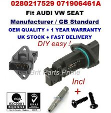 VW GOLF IV (1J1,1J5) 1.9TDI 2.3V5 2.8VR6 Mass Air Flow meter Sensor 0280217529