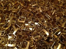 Watch Strap Buckles X 50 (60grams) 14mm Gold Tone With Spring Bar New Old Stock