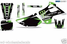 Graphic Kit Kawasaki KX 125/250 Dirt Bike MX Motocross KX125 KX250 1992-1993 MR