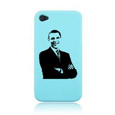 BARACK OBAMA SILHOUETTE CELEBRITY iPHONE CASE COVER STICKER ON A 3G, 4S AND 5