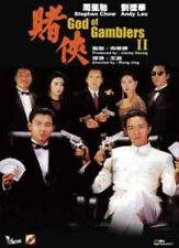 "Andy Lau ""God of Gamblers II"" Stephen Chow HK Remastered Edition Version R0 DVD"