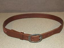 American Eagle Outfitters Brown Leather Dress Skirt Belt Women's Size Medium