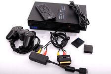 SONY PS2 - in fast neuwertigem Zustand - inkl. Fernbedienung & DVD-Upgrade