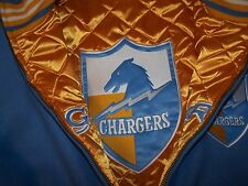Mitchell & Ness Chargers reversible wool jacket size 48 xl  new  retail 450$