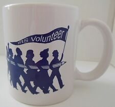 """Vintage """"IRS Volunteer Best of the Best"""" Coffee Mug Florida Linyi Made in China"""