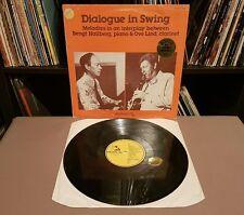 DIALOGUE IN SWING Bengt Hallberg - RARE 1977 SWEDISH JAZZ/SWING - PHON 10