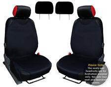 T-SHIRT 2x Auto Sedile Anteriore Coperchio Protector Nero per VW GOLF MK7