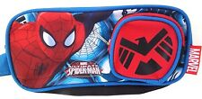 Stylish Original Marvel Ultimate Spider-Man Dual Compartment Pen Pencil Case Bag