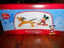 DEPT 56 DISNEY VILLAGE Accessory MICKEY CATCHING SOME AIR NIB