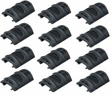 New UTG Universal 20mm Weaver Picatinny Rubber Rail Cover Airsoft AEG [12PCS]