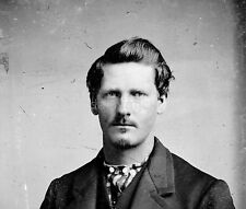 American Wild West Lawman Wyatt Earp Lamar Missouri 1869  6x5 Inch Reprint Photo