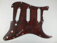 VINTAGE CORRECT Red/Black TORTOISESHELL SSS Pickguard for 1964 USA Stratocaster