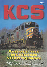 KCS Across The Meridian Subdivision DVD Railroad Pentrex NEW!