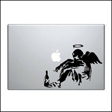 "Macbook Aufkleber Sticker Decal skin Air Pro 11"" 13"" 15"" 17"" Bansky heimatlos"