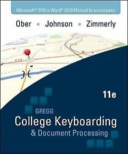Microsoft Office Word 2010  Manual ta Gregg College Keyboarding & Document Proce