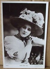 Old Real Photo Musical-Comedy Star Postcard - Edna May