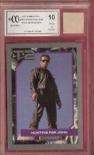 Arnold Schwarzenegger TERMINATOR CARD BECKETT 10 & MOVIE WORN BLAZER RELIC PIECE