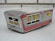 Vintage Japan Tin Litho Vagabond Travel Trailer